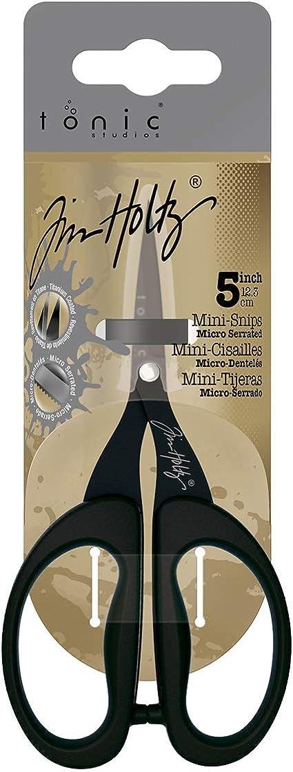 Tonic Studios Tim Holtz 5in Titanium Mini Snips