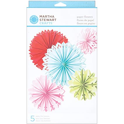 Amazon martha stewart crafts modern festive paper flowers arts martha stewart crafts modern festive paper flowers mightylinksfo