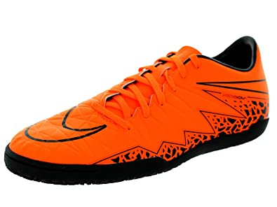 280add571 Nike Mens Hypervenom Phelon II IC Total Orange Ttl Orng Blk Blk Indoor