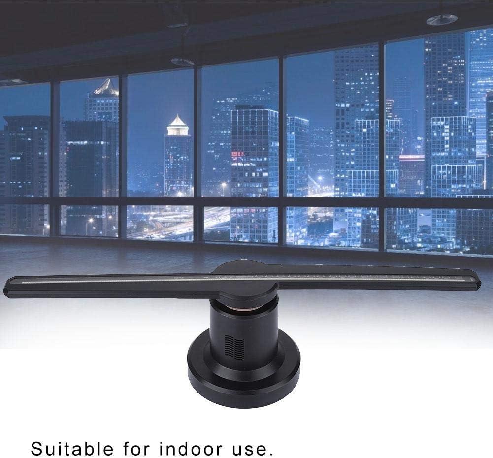 Wendry Máquina publicitaria holográfica 3D, admite Video/animación/imágenes Regulares,LED exquisitos para el exhibidor publicitario holográfico del proyector holográfi(UE): Amazon.es: Electrónica