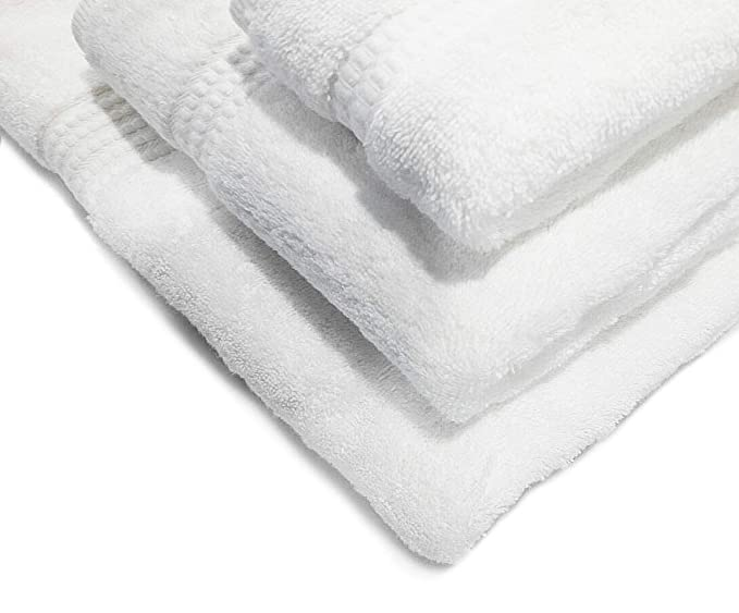 PimpamTex - Toalla Premium Extra Grande de baño 100% Algodón 100x150 cm - (Blanco): Amazon.es: Hogar