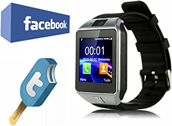VOSMEP SmartWatch Reloj Inteligente Bluetooth 3.0 Teléfono ...
