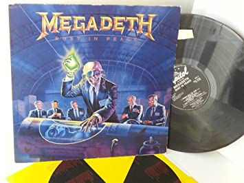 Megadeth Rust In Peace Est 2132 Megadeth Amazonde Musik