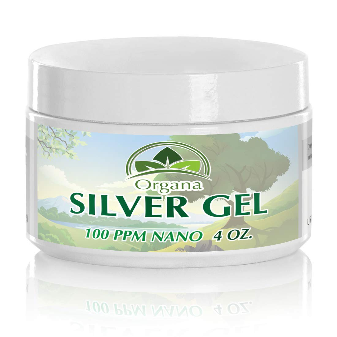 The Best Silver Gel - 100 PPM - Colloidal Silver Gel (4oz)