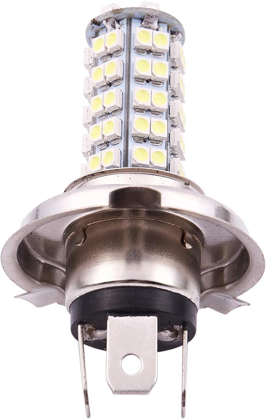 RETYLY Voiture 68 LED SMD 3528 H4 Ampoule Antibrouillard Lampe Phare 310LM 12V 6500K Nouveau