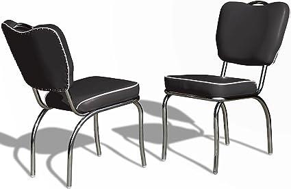 Sedie Ufficio Anni 50 : Sedia da cucina sedia per sala da pranzo diner sedia ufficio sedie
