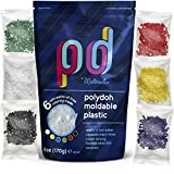 Polydoh Moldable Plastic + coloring granules for free! (6oz) [polymorph plastic pellets]
