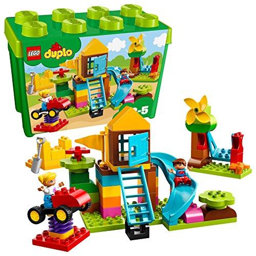 """레고(LEGO) 듀푸로 녹색(미도리)의 콘테이너 슈퍼 디럭스 """"콩가루 상지 않겠다"""" 10864"""