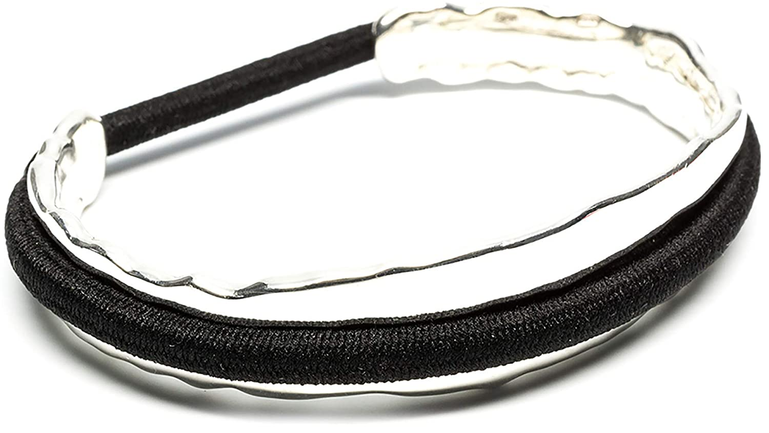 Amazon.com   Maria Shireen  Original Design Hair Tie Bracelet - Stainless  Steel Hair Tie Holder - Functional Fashion Accessory - Keeps Track of Hair  Ties ... 8a4d67874aa
