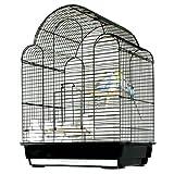 Ewa Escape Bird Cage - 17''W x 12''D x 22.5''H - White