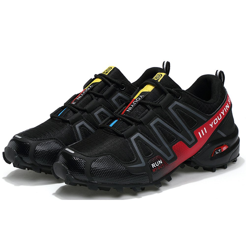 Sneakers  For Mens Clearance Sale ,Farjing Men Running Shoes Hiking Shoes Sneakers Athletic Outdoor Sports Hiking Sneakers (US:8.5,Black ) by Farjing (Image #5)