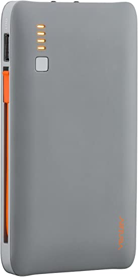 Ventev Portable Charger Powercell 6010+   Ultra-Compact External Battery Pack, Universal Fast Charging for All Devices, Mfi Certified, Lightweight for ...
