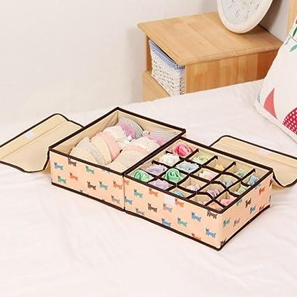 Longless Caja de almacenamiento artículos para el hogar caja de almacenamiento plegable ropa escombros juguetes para