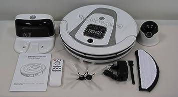 Robot Aspirador completo con accesorios. El mejor del mercado, auto-recargable, autonomia