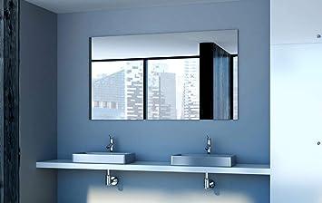 Badezimmerspiegel Rechteckig.Glaswerk Tanhas Kristallspiegel Badezimmerspiegel Rechteckig