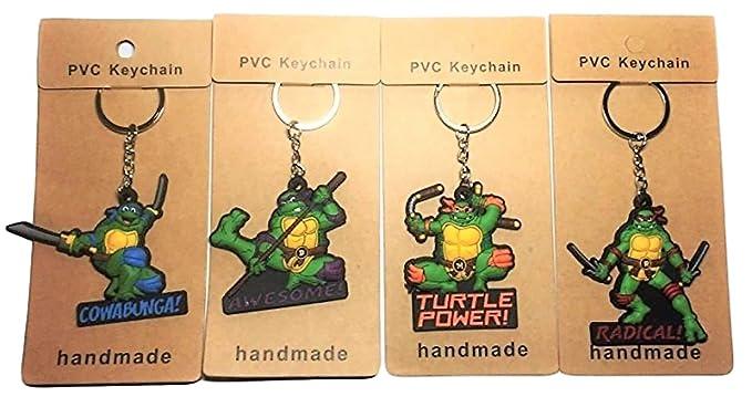 Amazon.com: Teenage Mutant Ninja Turtles Characters Silicone ...