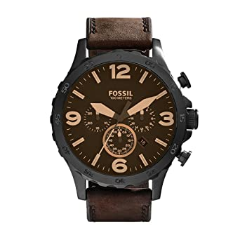 brown watch watches zodiac main grandrally leather products