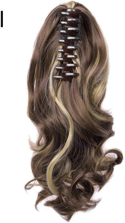 YONSIN Extensiones de cabello con clip de cabeza completa ...