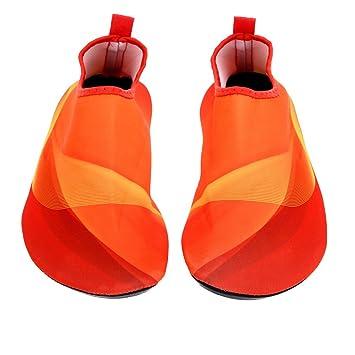 Ligera de verano Unisex Aqua zapatos calcetines ejercicio de ...