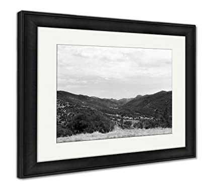 Amazon Com Ashley Framed Prints Marin County Hills Wall Art Home