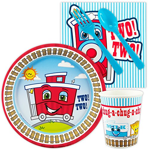 2nd Birthday Train Party Supplies - Snack Party