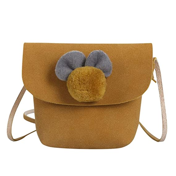 zolimx_niñas 🦄 Mochilas Infantiles, Bebé Niñas Chicos Bolsos Mini Bandolera Bolsa Paquete Mochilas Escolares para Adolescentes (Amarillo, 10*5*12 cm): ...