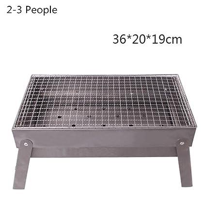 HomJo Barbacoa grill Barbacoa Parrilla de carbón al aire libre de la barbacoa de la barbacoa