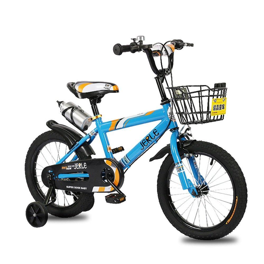子供の自転車、赤ちゃん2-3-4-6歳の少年12-18インチのベビーカーの自転車 ( 色 : 青 , サイズ さいず : 14 inches ) B07CNZ34TR 14 inches|青 青 14 inches