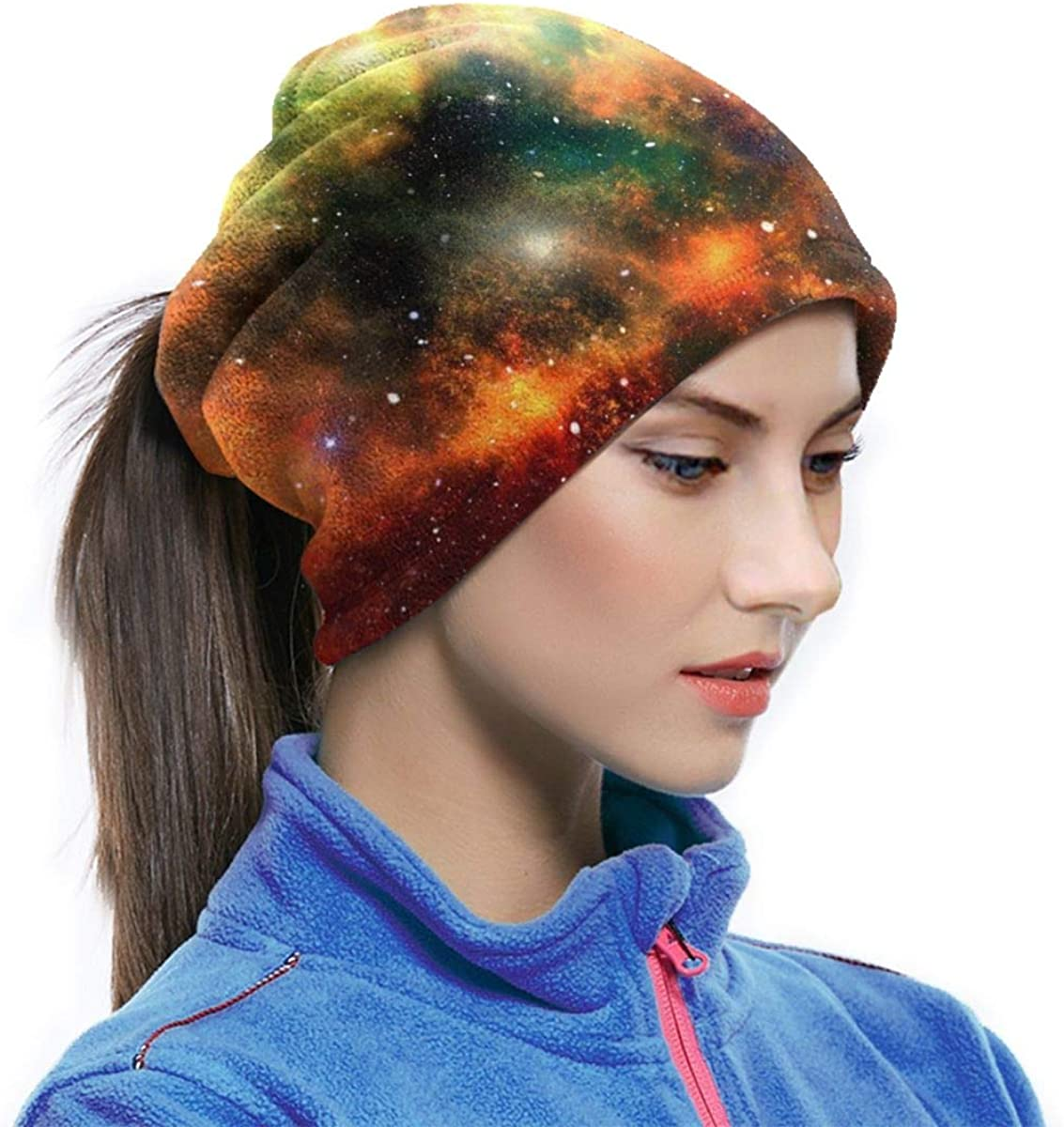 Multicolored Star Painting Mask Seamless Neck Gaiter Shield Scarf Bandana Face Mask Seamless UV Protection For Motorcycle Cycling Riding Running Headbands