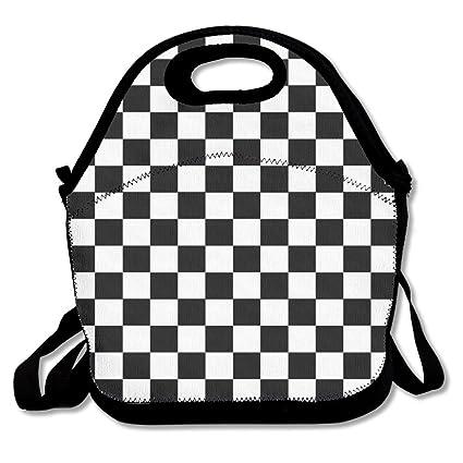 Amazon.com: Bolsas de almuerzo aisladas para viajes, picnic ...