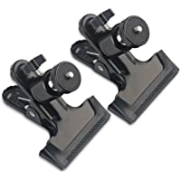 "MDW 2 Pcs tripod Clip Clamp Mount for HTC Vive/VIVE Pro,for Oculus Rift with 360 Swivel Tripod Mini Ball Head standard 1/4"" Screw ,SLR, Digital SLR, Video came"