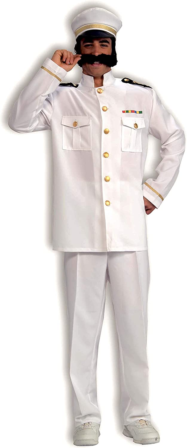 Forum Novelties Men's Cruise Captain Costume
