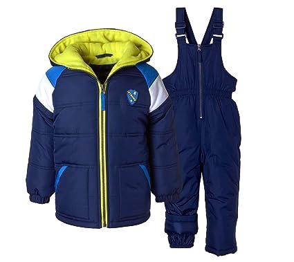 47979c9d59 Amazon.com  iXtreme Boys  Snowsuit  2-Piece Camo Print Snowsuit for ...