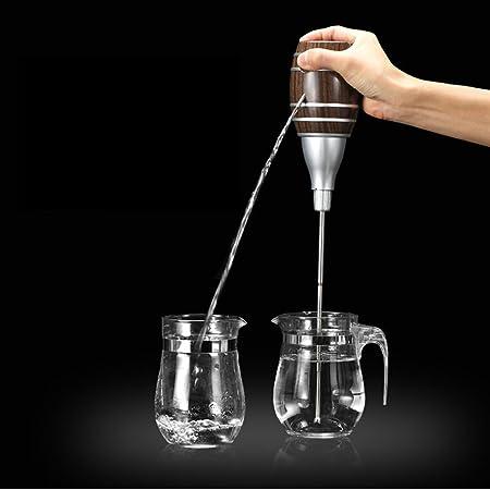 Vinteky® Mini Escanciador de Sidra/Sagardo/Cidre Práctico Echador de Vino Durable Decantador para Sidra Eléctrico Tonel con varilla telescopic, nueva bomba de gran capacidad y durabilidad