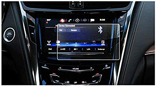 Amazon Com 2015 2018 Cadillac Cts 8in Cue Infotainment Interface Touchscreen Car Navigation Touch Screen Protector Tempered Glass 9h Anti Scratch And Shock Resistant