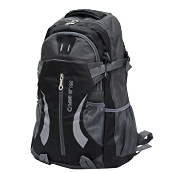 Amazon.com : Generic Waterproof Hiking Backpack 35L (Black ...