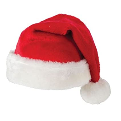 Buy Men Women Christmas party red santa hat high quality soft and fluffy  Pack of 2 Online at Low Prices in India - Amazon.in a5b35191fb