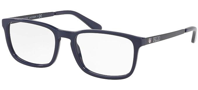 Ralph Lauren POLO 0PH2202 Monturas de gafas, Blue, 55 para Hombre ...