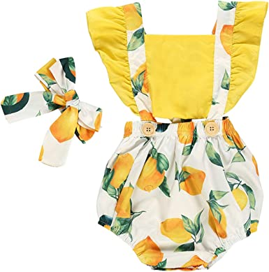 Girl Newborn Clothes Jumpsuit Stylish Costume Casual New Summer Rompers Bodysuit