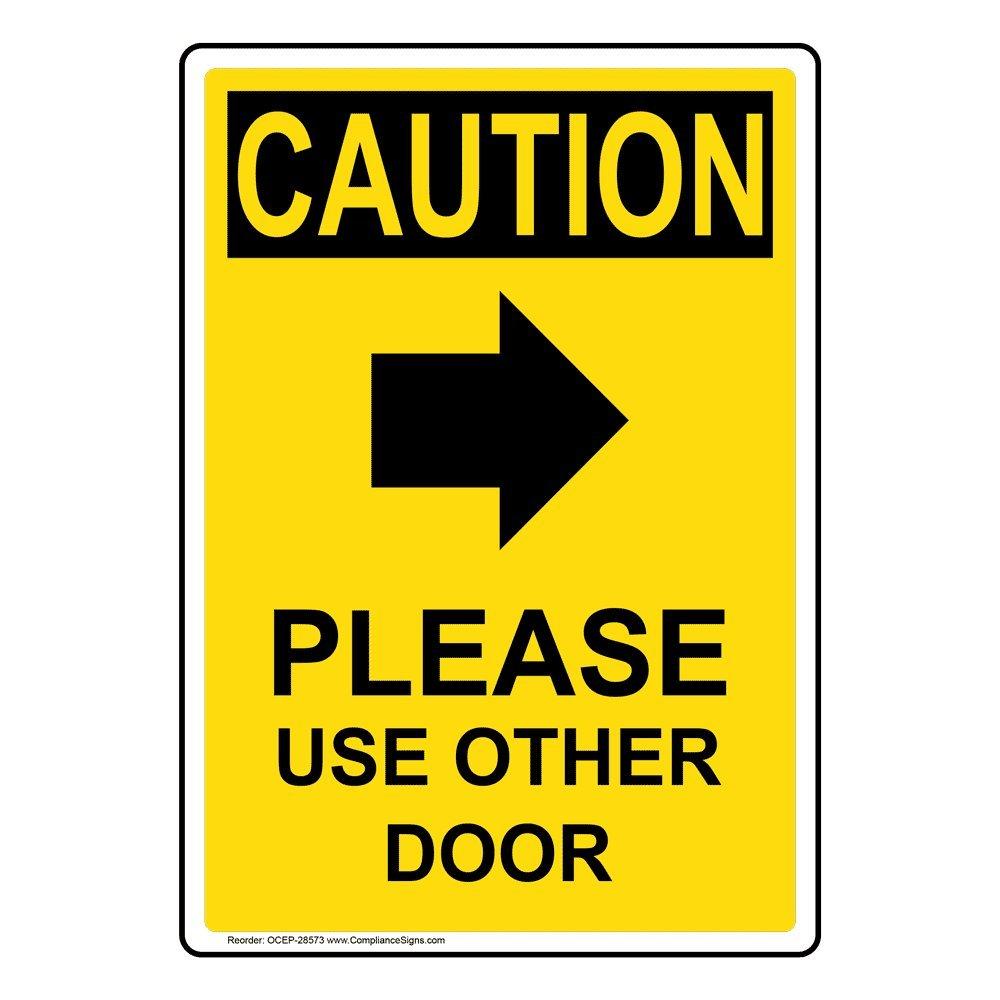 Amazon.com: compliancesigns OSHA Caution por favor uso Otros ...