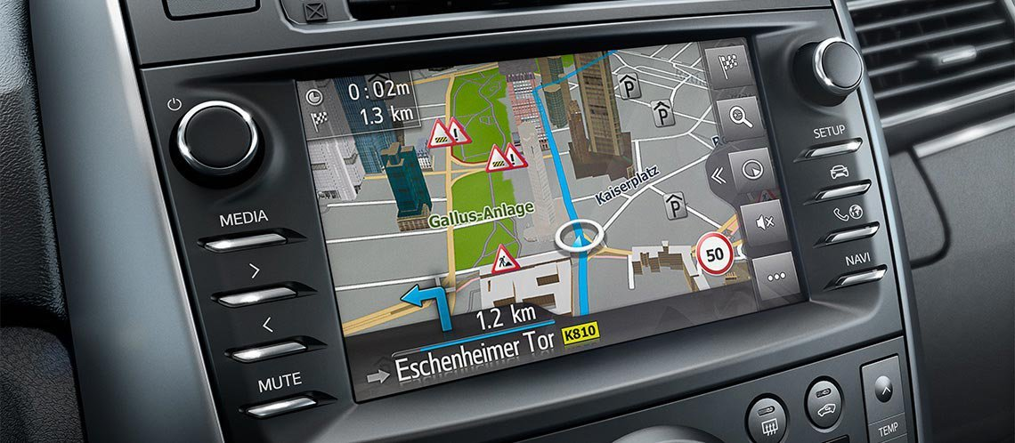 AV-Videokabel f/ür Monitore Toyota Touch 2 with Go Plus Entune Audio Plus