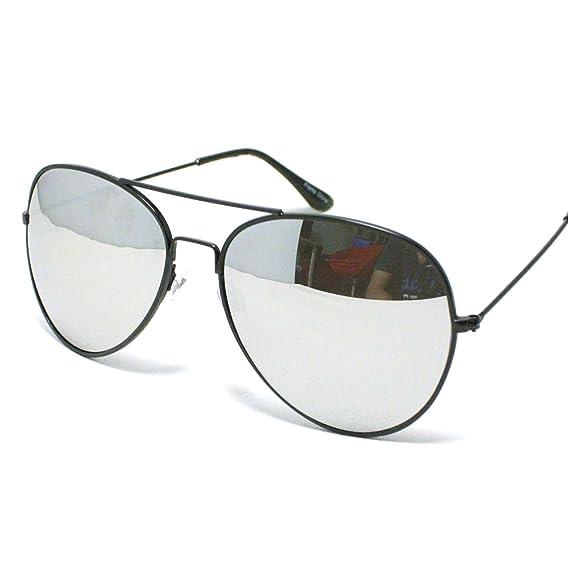 e7e74e6f5e Younky Unisex Aviator Stylish Black Silver Mercury Sunglasses - Mirrored  Goggles (Black Frame- Silver Lens) (Blk-Mrcy-001)  Amazon.in  Clothing   ...