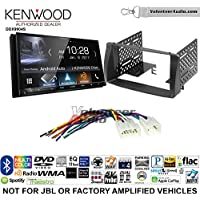 Volunteer Audio Kenwood DDX9904S Double Din Radio Install Kit with Apple CarPlay Android Auto Bluetooth Fits 2003-2008 Non Amplified Toyota Corolla