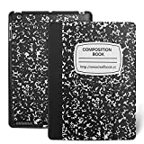 Apple iPad 2/3/4 Case - iPad Case 4th Generation, Leafbook Stand Smart iPad Case for iPad 2 (iPad 4th Generation Case), new iPad 3 Cover & iPad 2 Cover(Automatic Wake/Sleep Feature),Composition Book