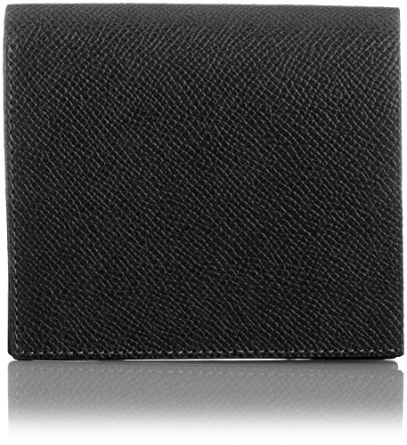 MAISON de HIROAN Leather Bifold Wallet Made in Japan 21553 Black/Blue by MAISON de HIROAN
