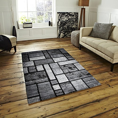 Msrugs Grey Area Rugs/Area Carpet 5x7 Size By Made From Turkey - Classy Traditional Designs - Perfect Area Rugs For Living Room & Kitchen - Indoor or Home in Clearance (5x7, Grey)