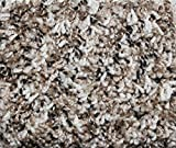 Cheap SQUARE 11'X11′ Indoor Frieze Shag Area Rug – Tiger Eye II 40 oz – plush textured carpet with Premium BOUND Polyester Edges.