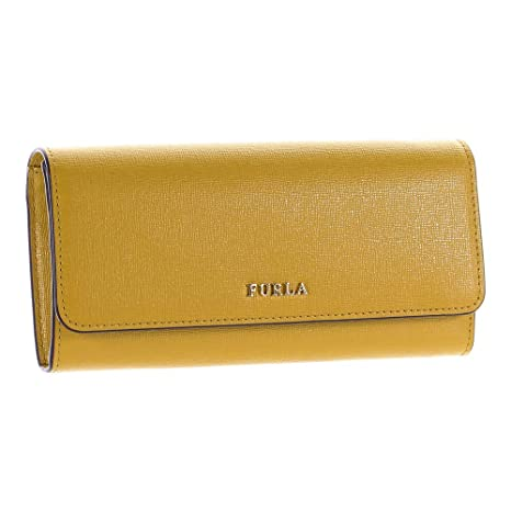 Furla - Cartera para Mujer Amarillo Amarillo 19cm