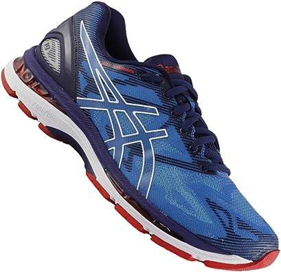 ASICS Gel Nimbus 19 T700n-4301 - Zapatillas de running para hombre, color azul: Amazon.es: Zapatos y complementos
