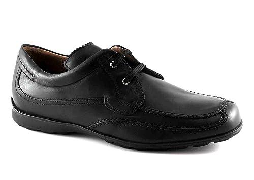 Loafers 7966 Schwarze Schuhe Lion Man Antistatischem Leder PikXZu